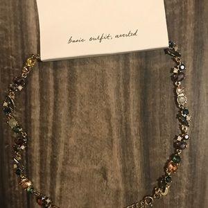 NWT LOFT stone necklace
